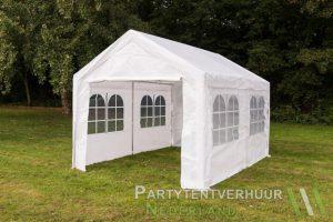 Partytent 3x4 meter zijkant huren - Partytentverhuur Amsterdam