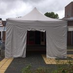 Easy up tent 4x4 huren in Amsterdam