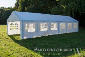 Partytent 6x12 meter zijkant rechts huren - Partytentverhuur Amsterdam