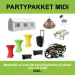 Huur het partypakket midi in Amsterdam