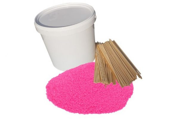 suikerspin roze