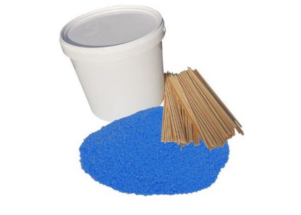 suikerspin blauw